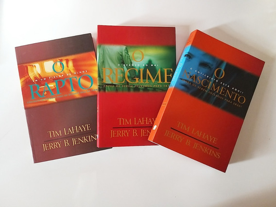 Livros Trilogia Deixados Para Trás Tim Lahaye