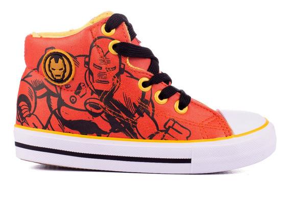 Zapatillas Niños Botita Marvel Originales Avengers By Atomik