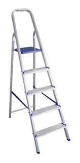 Escada Multiuso 5 Degraus Em Alumínio 163500 Belfix