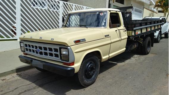 Ford F4000 1980 Impecavel Motor Novo Pneus Novos