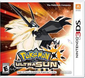 Pokémon Ultra Sun Nintendo 3ds Codigo Digital Eshop