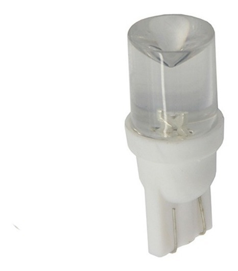 Lampara Led T10 24v 10mm Concava X50 Pares