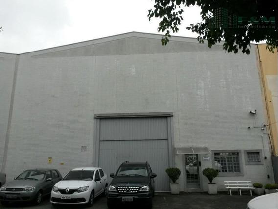 Barracão Comercial Para Locação, Boqueirão, Curitiba. - Ba0003