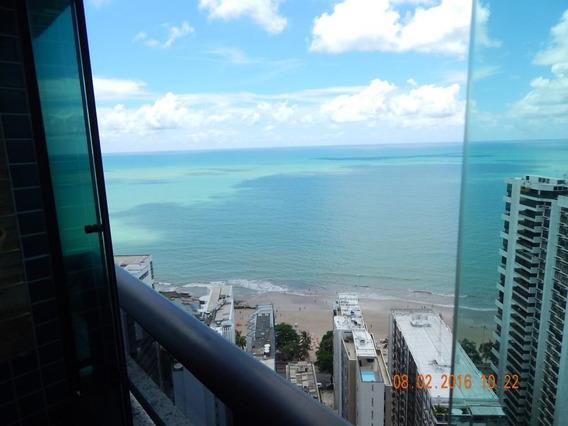 Apartamento Com 2 Quartos Para Alugar, 52 M² Por R$ 3.200/mês - Boa Viagem - Recife/pe - Ap0202