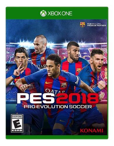 Pro Evolution Soccer 2018 Standard Edition Konami Digital Entertainment Xbox One Físico