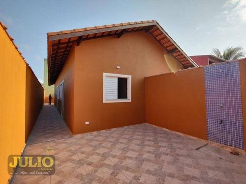 Imagem 1 de 13 de Entrada A Partir R$ 23.000,00 E Saldo Financiado! Casa Com 2 Dormitórios, 55 M² Por R$ 230.000 - Jardim Magalhães - Itanhaém/sp - Ca4135