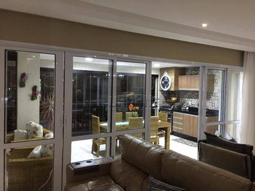 Imagem 1 de 30 de Apartamento À Venda, 192 M² Por R$ 2.180.000,00 - Vila Gilda - Santo André/sp - Ap0454