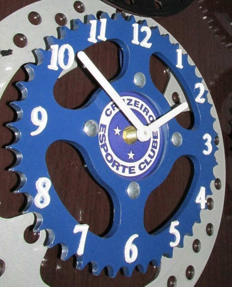 Relógio De Parede Personalizado Aço 1045 Cg Titan / Factor