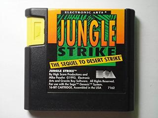 Jungle Strike Sega Genesis