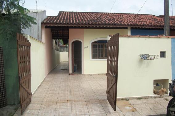 Casa Em Itanhaém,lado Praia,ótimo Estado.