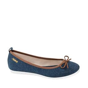 Ballerina Casual Pepe Jeans Azul Mujer -a77e67