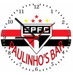 Relógio São Paulo - Grave O Nome Do Seu Pai