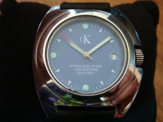 Reloj Calvin Klein K12111. Swiss Made. 100% Original.