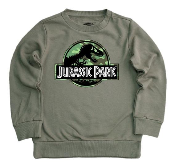 Pullover Máscara De Látex Jurassic Park Camo Mljp Niño