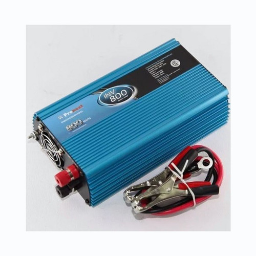 Inversor De Tensión 12 Volts A 220 Volts Hasta 800 Watts