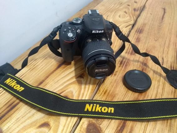 Câmera Nikon D5300 Full Hd Kit 18-55mm+32gb+bolsa