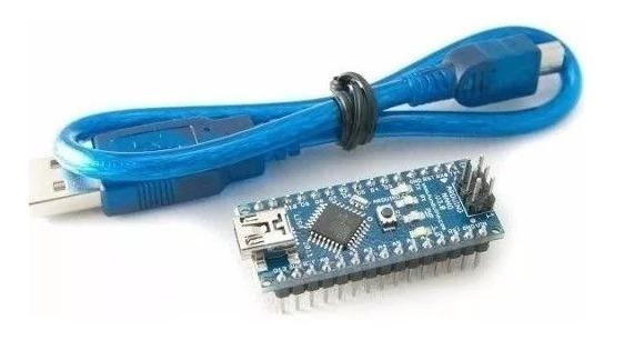 Arduino Nano V3.0 Avr Atmega328 P-au/ Com Cabo