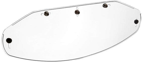 Echo Productos (02505) 5-snap Flat Shield, Transparent