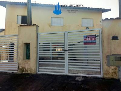 Sobrado Para Locação Definitiva Em Mongaguá Com 2 Dormitório - 3504