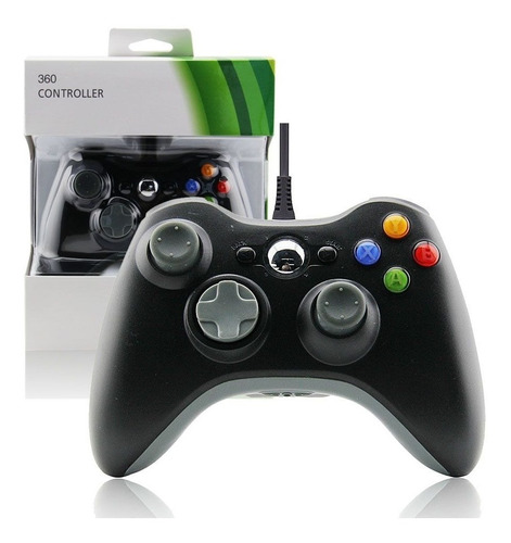 Joistick Control Xbox 360 C/cable Oferta Consulte Por Mayor