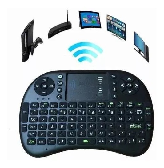Mini Teclado Sem Fio Touch Pad Smart Tv Pc Celular