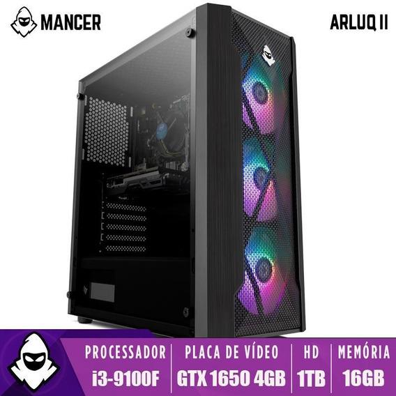Pc Gamer Mancer Arluq Ii, I3-9100f, Gtx 1650 4gb, 16gb Ddr4