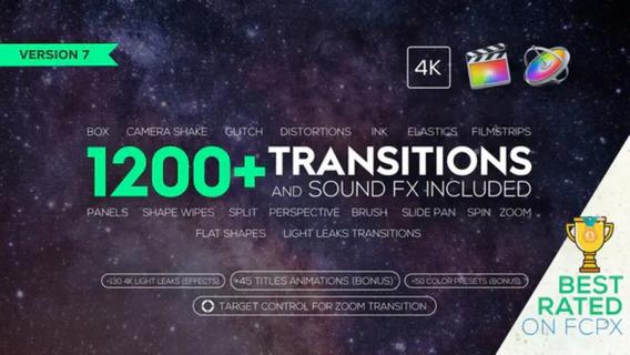 Transiciones 4k Y Efectos De Sonido Final Cut Pro X 1200 Mercado Libre