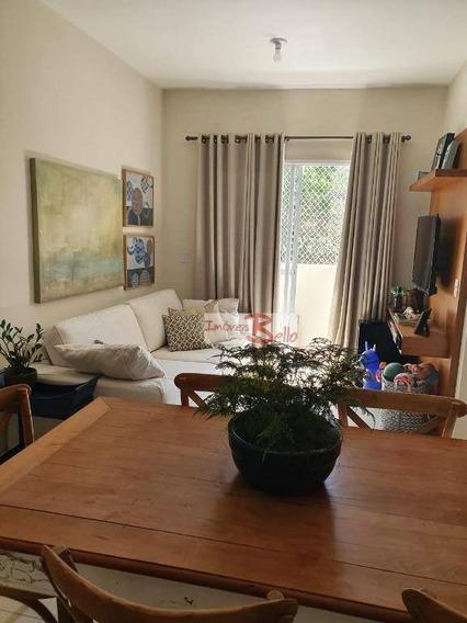 Apartamento Com 2 Dormitórios À Venda, 57 M² Por R$ 300.000 - Bairro Da Ponte - Itatiba/sp - Ap0460