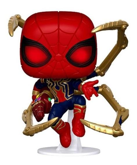 Avengers Endgame Funko Pop Marvel Iron Spider Nano Gauntlet