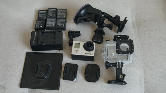 Câmera Gopro Hero3 C/ Lcd 2