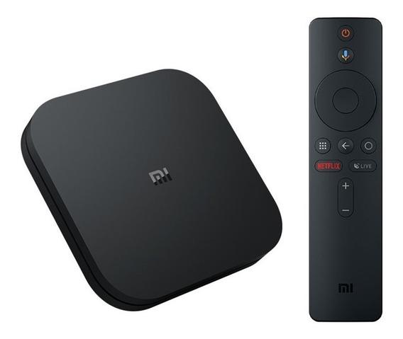 New Mi Box S Xiaomi Tv Com Conexão Bluetooth Para Acessorios