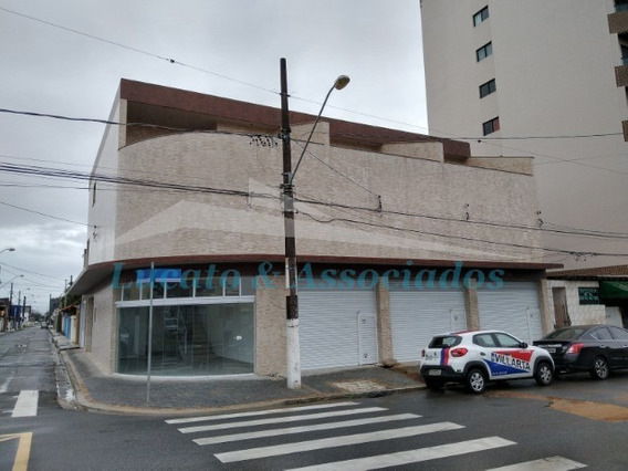 Salão Comercial No Boqueirão Com Banheiro E Mezanino. - Sl00008 - 68227576
