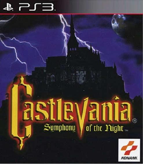 Castlevania Sotn Symphony Of The Night Ps3 Play3
