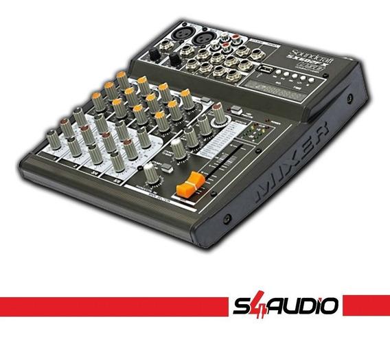 Mesa De Som - Soundcraft - Sx602fx - Usb - 6 Canais