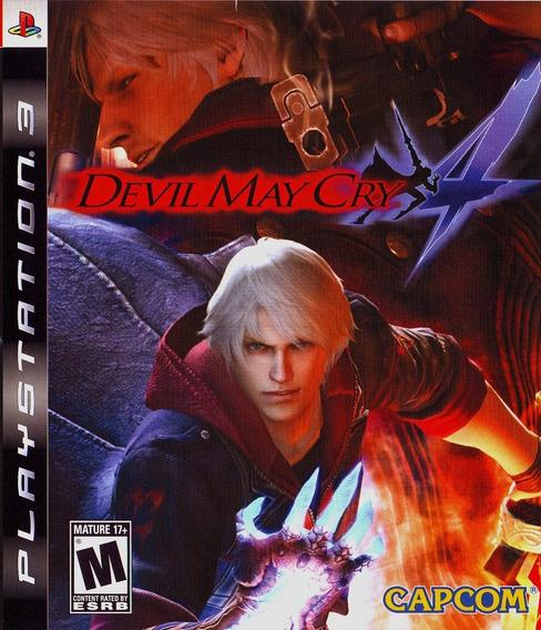 Devil May Cry 4 Lacrado Oferta! Loja Campinas
