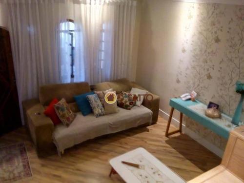 Sobrado Com 3 Dormitórios 180 M²-  Jardim São Domingos - Guarulhos - So0741