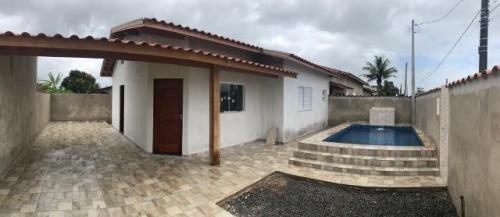 Casa Com Piscina No Cibratel 2 Em Itanhaém - 6026| Npc