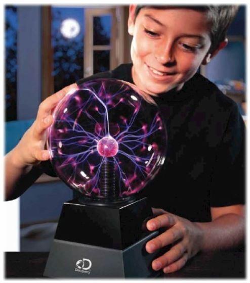 Juguetes Discovery Kids Globo Plasma Orb Sensor Música