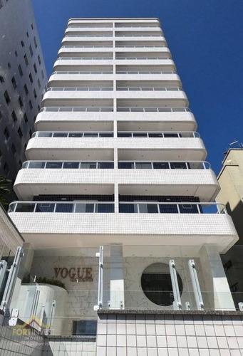 Imagem 1 de 27 de Apartamento Com 2 Dormitórios À Venda, 71 M² Por R$ 370.000,00 - Canto Do Forte - Praia Grande/sp - Ap2495