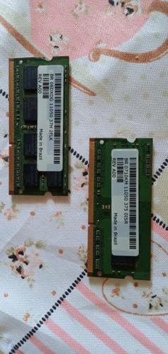 Memória Ram Ddr3 6gb (1x2gb E 1x4gb) - Usadas