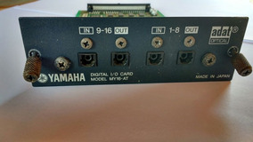 Placa My16at Yamaha Para Mesa Digital 01v, Ls9, M7cl