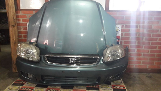 Para Choque Capo Grade E Farois Honda Civic 98/99