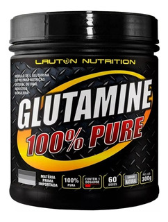 Glutamina 300g Lauton Nutrition Original Importada Oferta