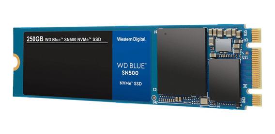 Disco sólido interno Western Digital SN500 WDS250G1B0C 250GB azul