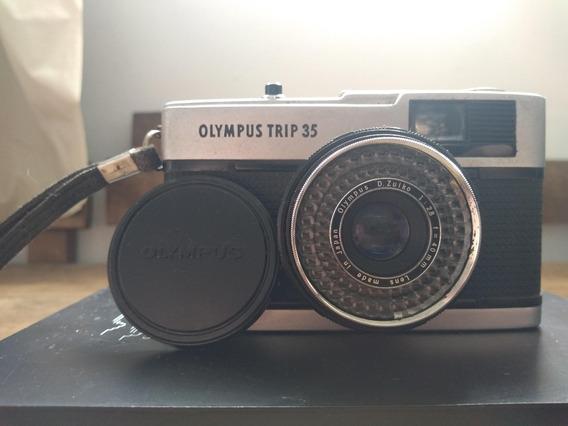 Máquina Fotográfica Analógica Olympus Trip 35