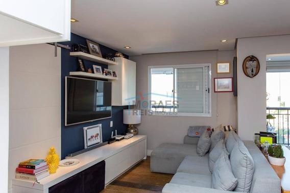 Apartamento Com 2 Dormitórios À Venda, 95 M² Por R$ 1.140.000 - Brooklin - São Paulo/sp - Ap14622