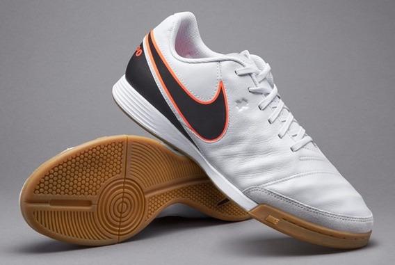 Chuteira Futsal Nike Tiempo Genio Ii Leather Ic - Original