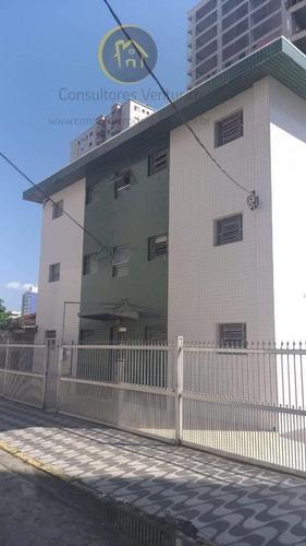 Imagem 1 de 9 de Apartamento Para Venda Em Praia Grande, Aviação, 1 Dormitório, 1 Banheiro, 1 Vaga - Ap265_1-2025430