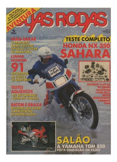 Duas Rodas N°186 Honda Nx 350 Sahara Jet Ski Kawasaki Yamaha