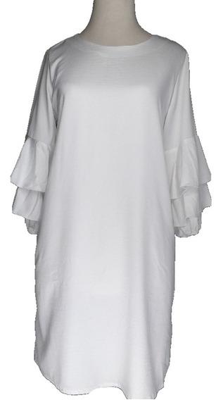 Vestido Mujer Saten Elegante Clásico Moda Akita V1427